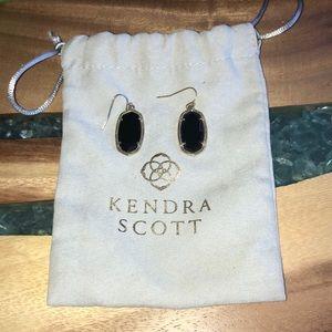 Kendra Scott black earrings